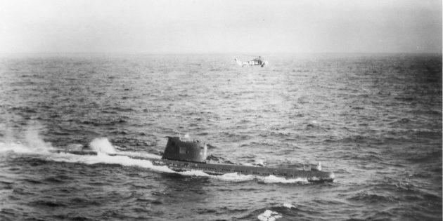 Ядерная война: подлодка «Б-59» направляется к Кубе