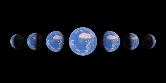 Google Earth показывает, как изменились разные уголки Земли за последние 37 лет