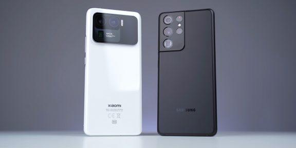 Xiaomi Mi 11 Ultra сравнили с Galaxy S21 Ultra. Какой смартфон снимает лучше?