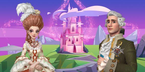 Стать дизайнером, крутить романы и выйти замуж за короля. Что ещё можно делать в игре Time Princess