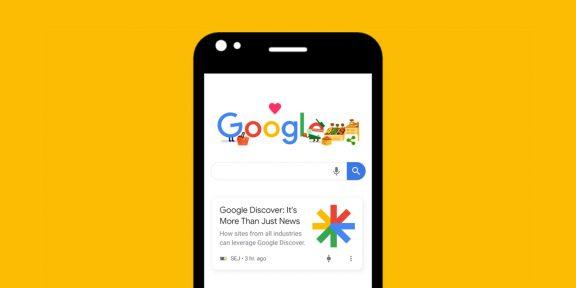 Google обновляет дизайн ленты новостей Discover на Android