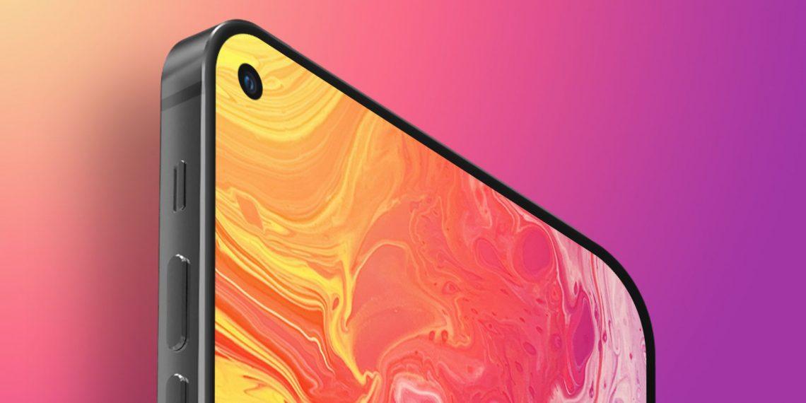 Новый iPhone SE может получить экран с отверстием под селфи-камеру