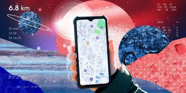 Освоение космоса и технологии: GPS-навигатор