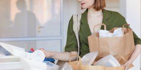 Лайфхак: как сортировать отходы, если вы живёте в маленькой квартире