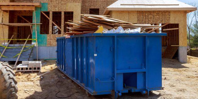 Ремонт в квартире: специальный бункер для мусора