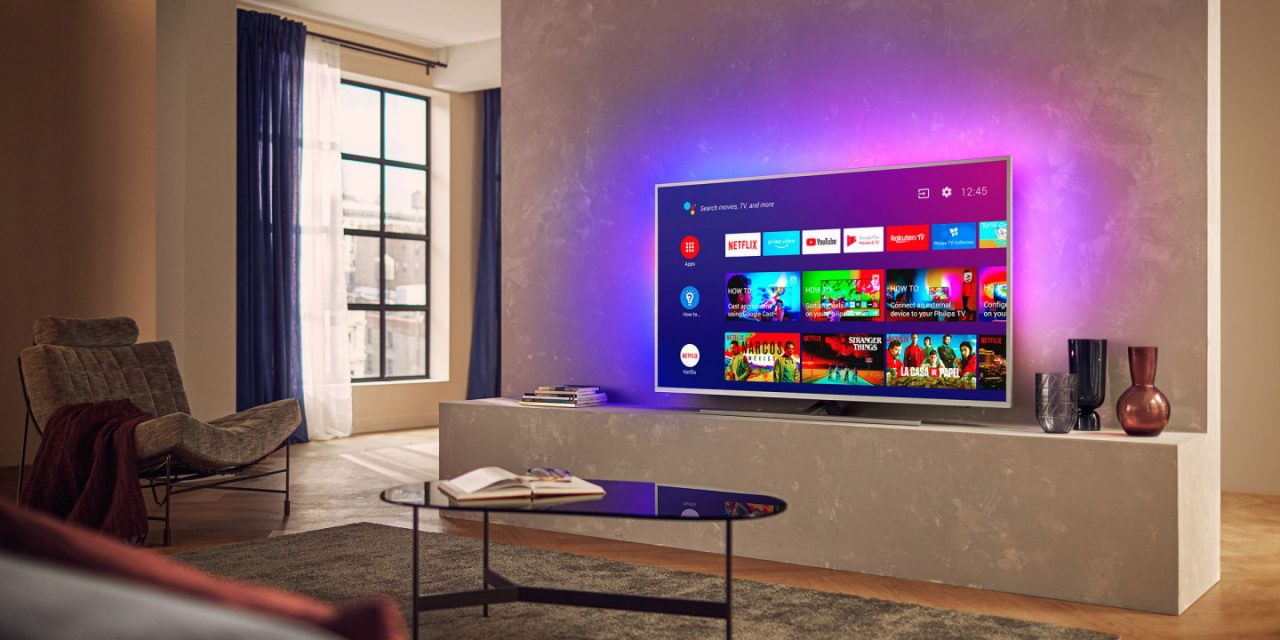 Выгодно: 65-дюймовый 4K-телевизор Philips с Android TV и Ambilight за 59992 рубля вместо 74990
