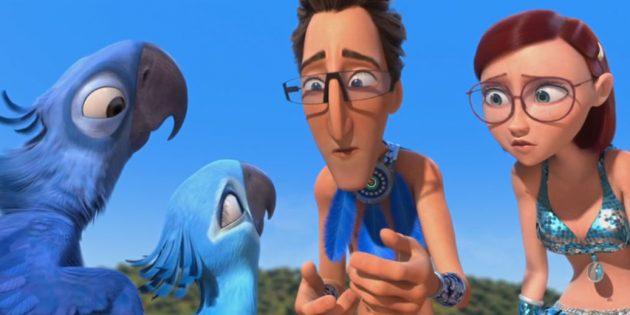 Мультфильмы про птиц: «Рио»