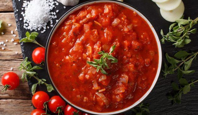 Томатно-медовый соус для шашлыка