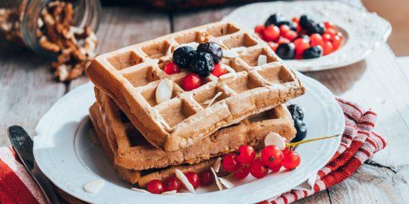 Мягкие и нежные вафли для идеального завтрака