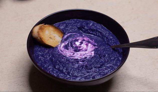 «Космический» суп-пюре