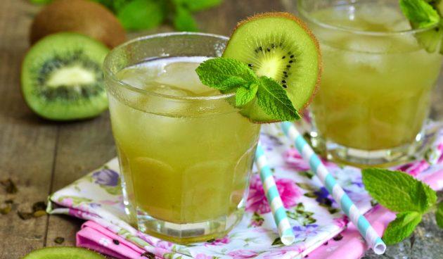 Лимонад из киви