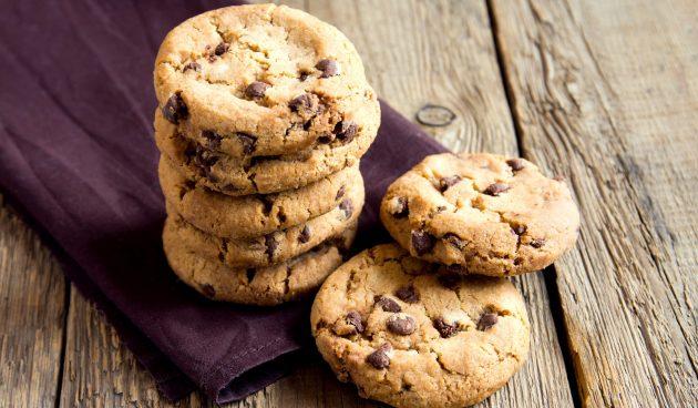 Шоколадное печенье в микроволновке за 5 минут