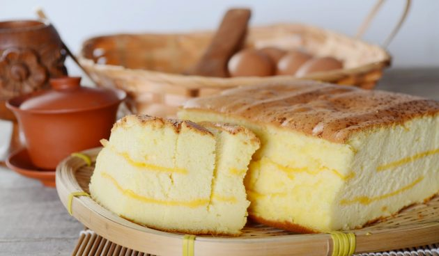 Мягчайший сырный бисквит «Кастелла»