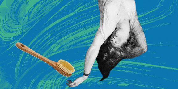 Помогите: как делать массаж сухой щёткой и есть ли вообще от него польза?