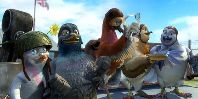 Мультфильмы про птиц: «Вэлиант: Пернатый спецназ»