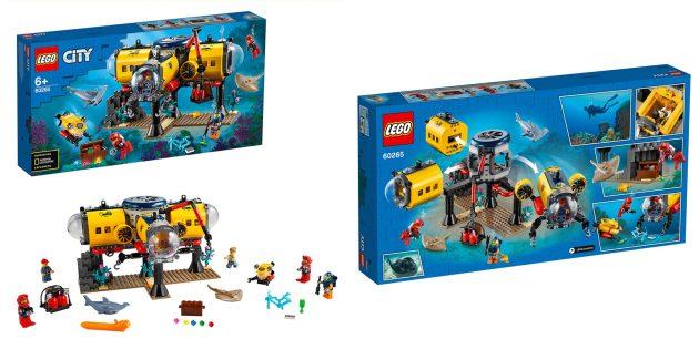 Lego City Oceans: Исследовательская база