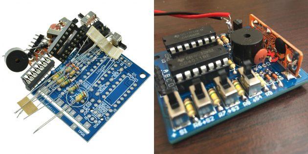 Электронные конструкторы с AliExpress: генератор звуков