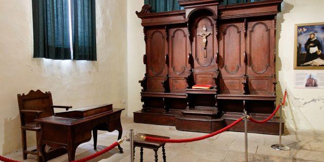 Инквизиция в Средние века: трибунал в инквизиторском дворце в Витториороса, Мальта