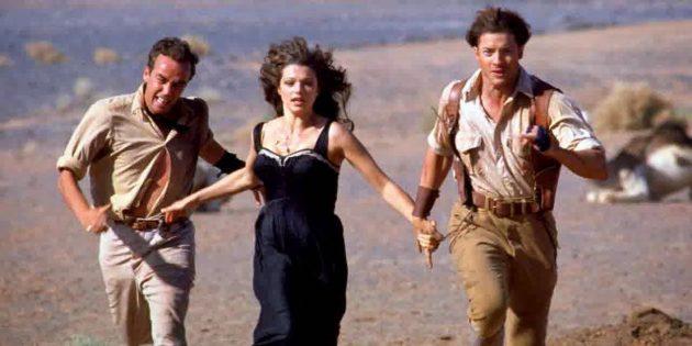 Кадр из фильма про Египет «Мумия»