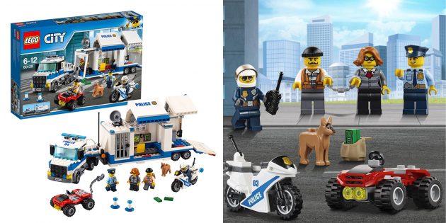 Lego City Police Мобильный командный центр