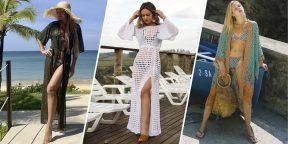 11 пляжных накидок и платьев с AliExpress