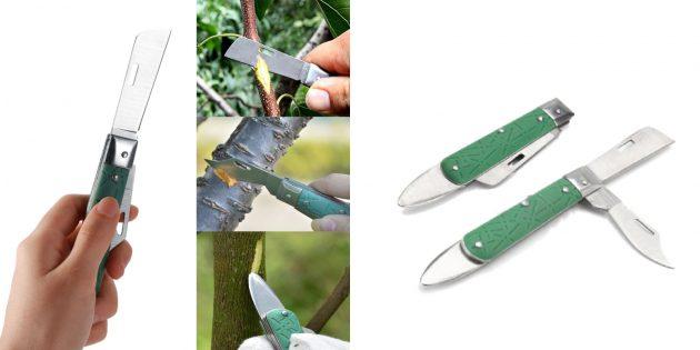 Товары для дачи: универсальный садовый нож