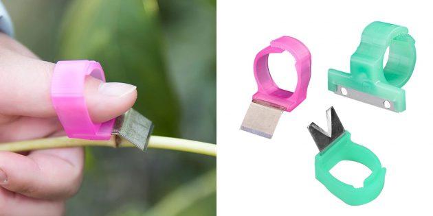 Кольцо — нож для срезания плодов