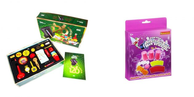 Подарки девочке на 10лет: набор для фокусов