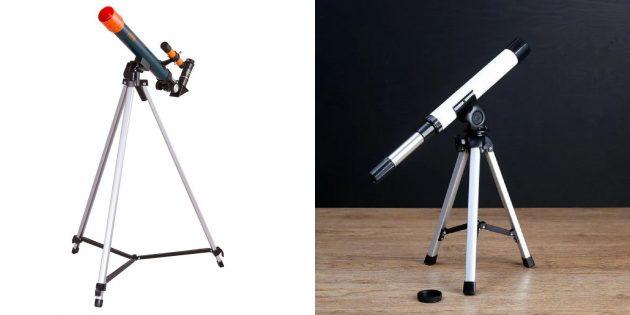 Подарки девочке на 10лет: телескоп