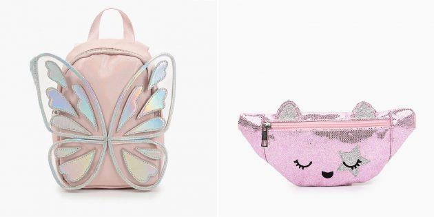 Подарки девочке на 10лет: рюкзак или сумка