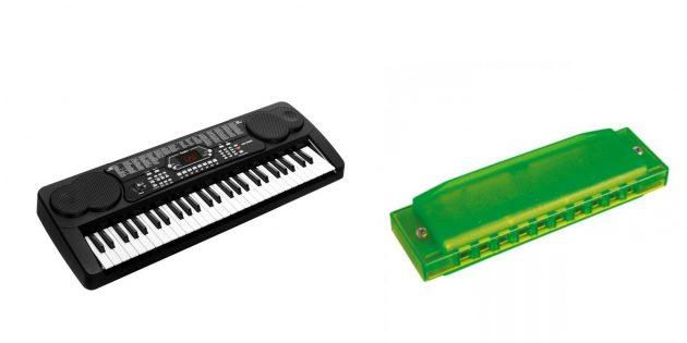 Подарки девочке на 10лет: музыкальные инструменты