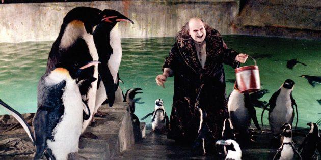 Фильмы про пингвинов: «Бэтмен возвращается»