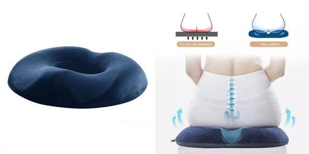 Ортопедическая подушка для сиденья