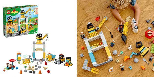 Lego Duplo Town Башенный кран на стройке