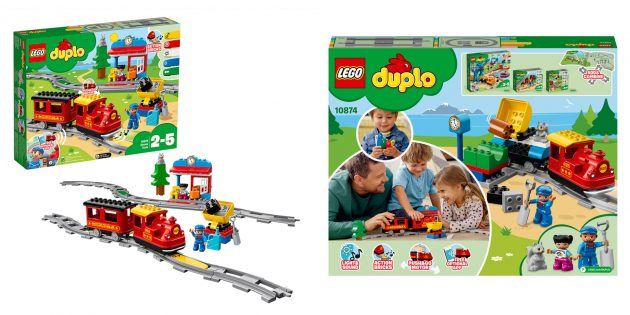 Lego Duplo Поезд на паровой тяге