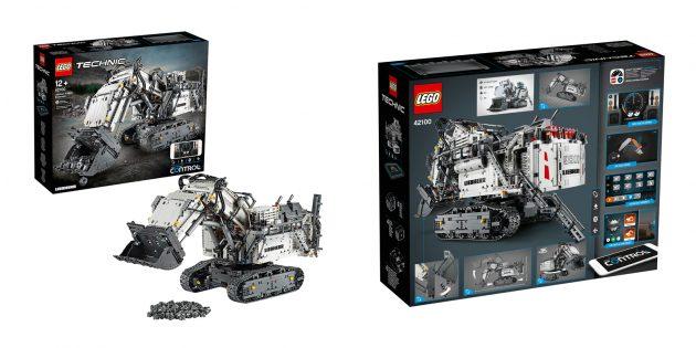 Lego Technic Экскаватор Liebherr