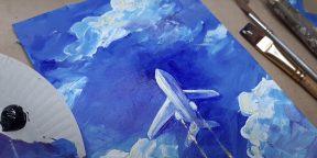 21 простой способ нарисовать самолёт