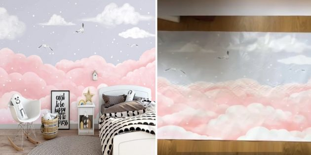 Товары для дизайна детской комнаты: обои