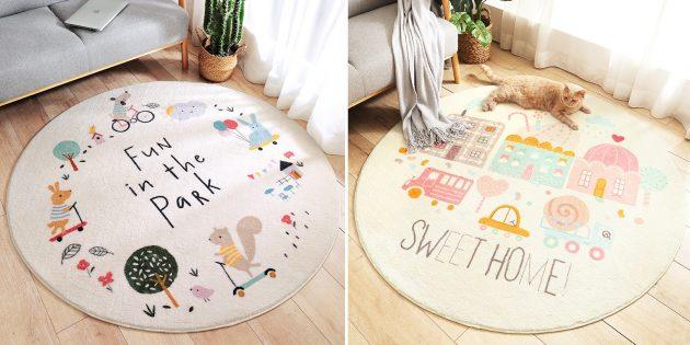 Товары для дизайна детской комнаты: коврик