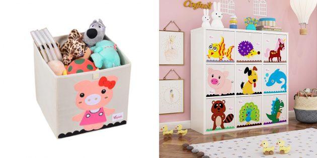 Товары для дизайна детской комнаты: органайзер