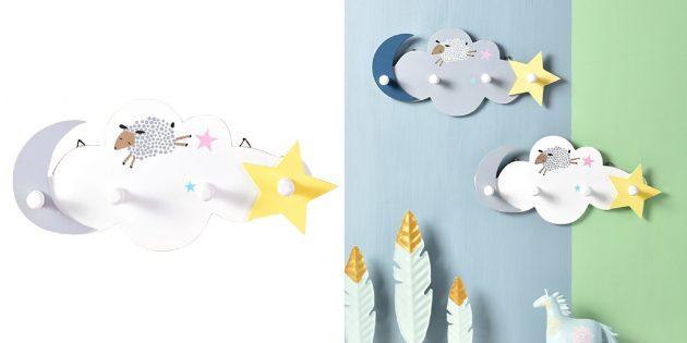 Товары для дизайна детской комнаты: вешалка