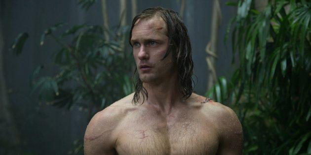 Кадр из фильма про джунгли «Тарзан. Легенда»