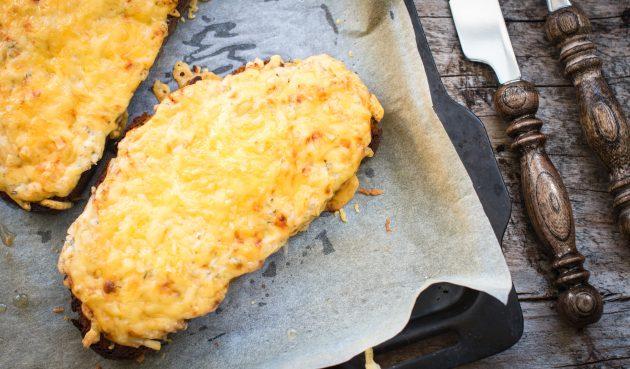 Гренки с сыром по-валлийски