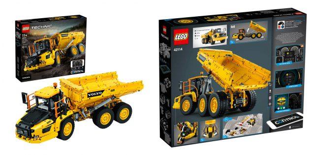 Lego Technic Самосвал Volvo