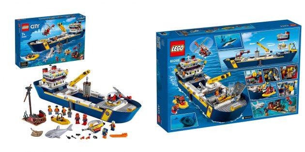 Lego City Oceans Исследовательское судно