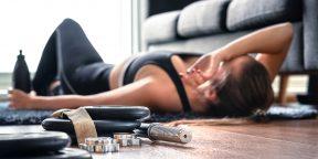 5 привычек, которые убивают пользу от тренировок