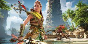 Sony показала геймплей Horizon Forbidden West для PS5 и PS4