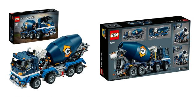 Lego Technic: Бетономешалка