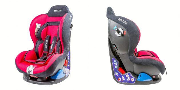 Детские автокресла: Sparco F5000K RD