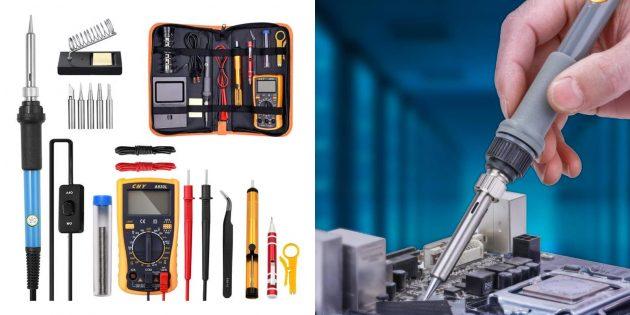 DIY-товары с AliExpress: паяльный набор